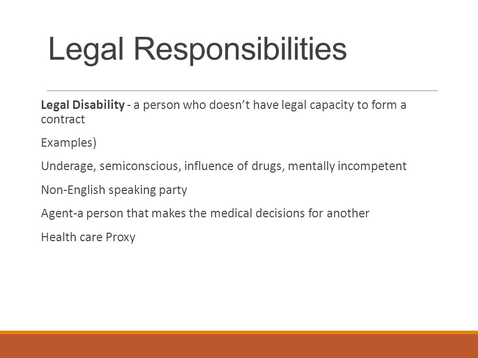 Legal And Ethical Responsibilities  Ppt Video Online Download