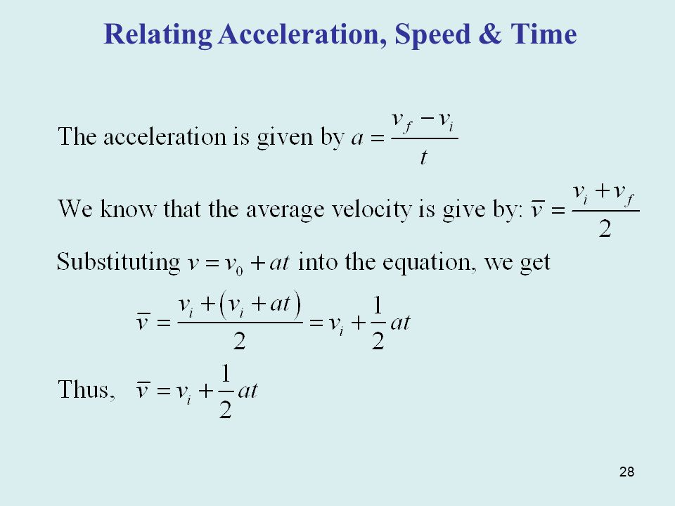 How To Calculate Distance Traveled With Acceleration And Time