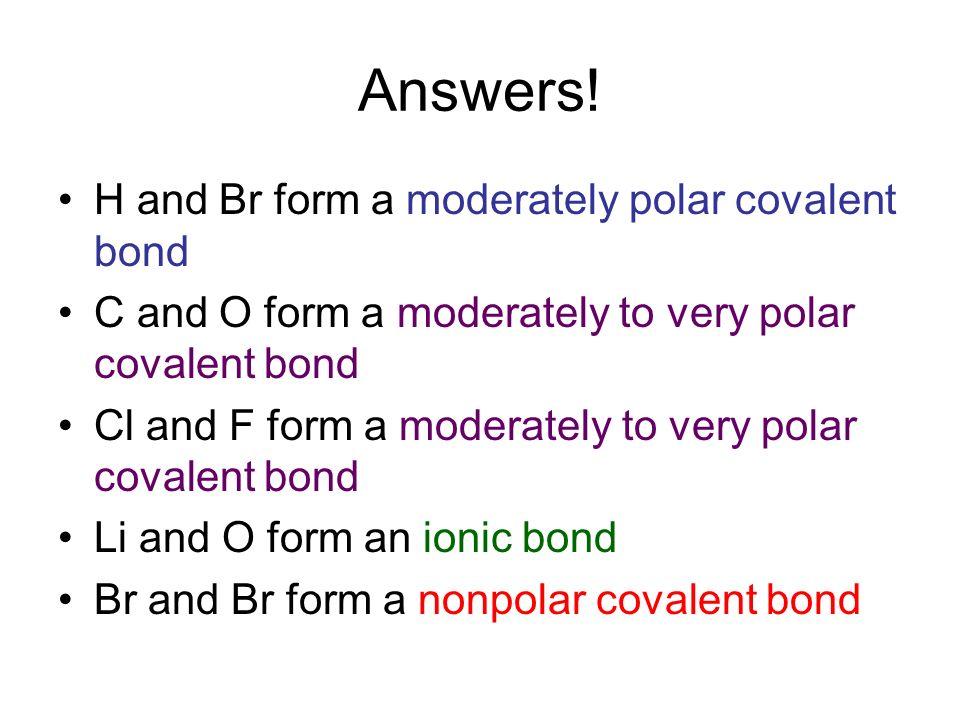 Polar Bonds and Molecules - ppt download