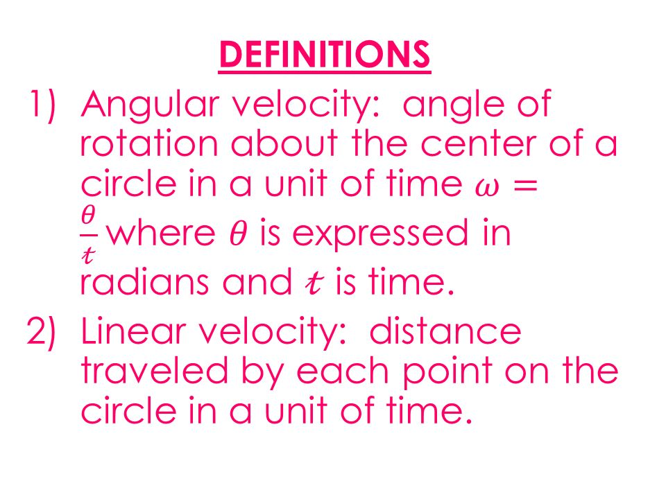 Angular and Linear Velocity ppt video online download – Angular and Linear Velocity Worksheet