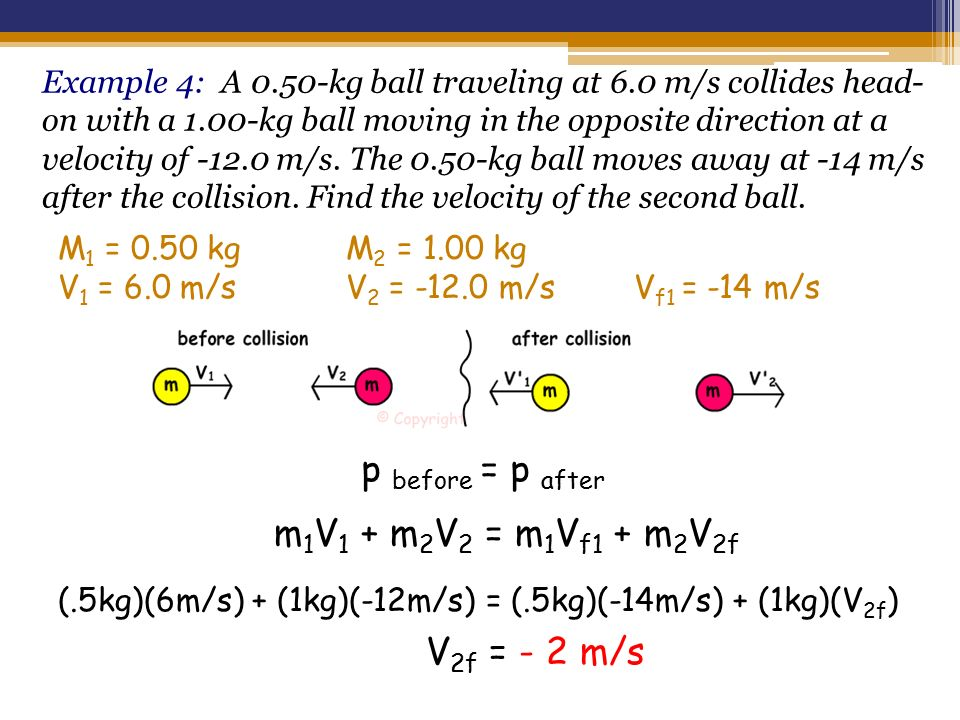 A  Kg Ball Traveling At  M S Collides