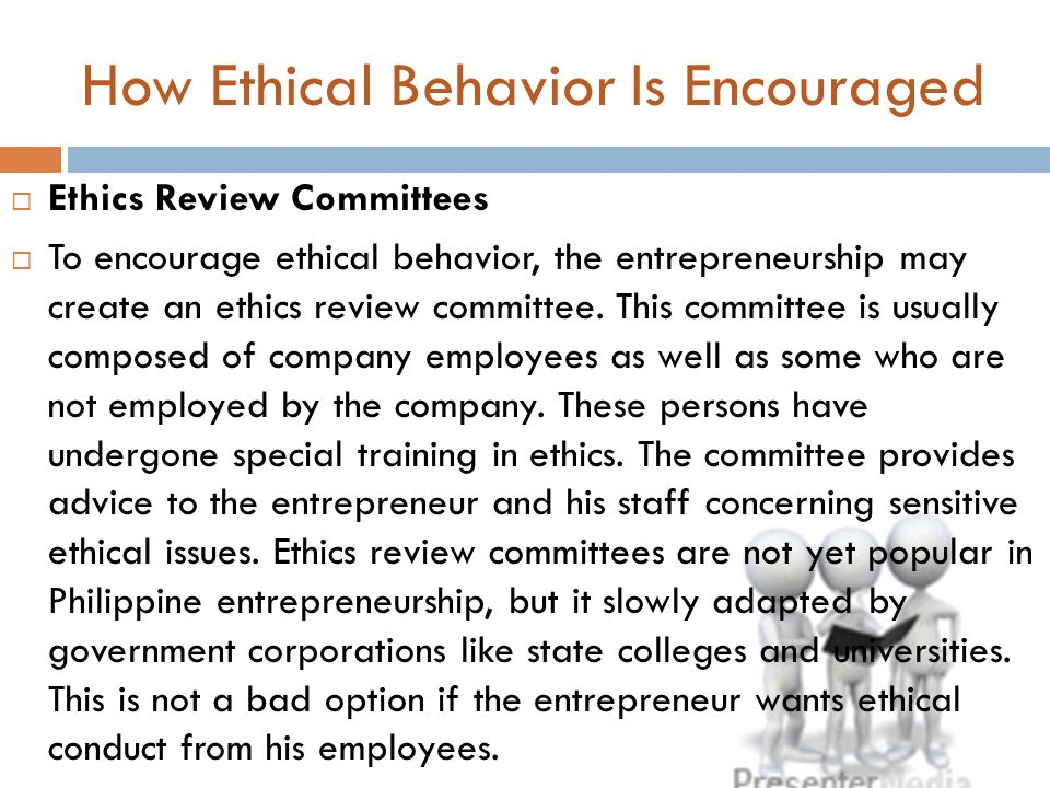 ethical issues in entrepreneurship Entrepreneurship and ethics: a literature j g and j a starr: 1992, 'entrepreneurship through an ethical lens: dilemmas and issues for research and practice', in d l sexton 2002, ethics and entrepreneurship the ruffin series no 3 a publication of the society for business.