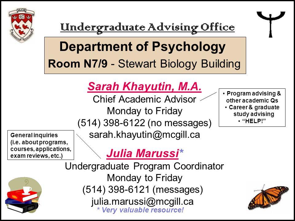 Undergraduate Advising Office