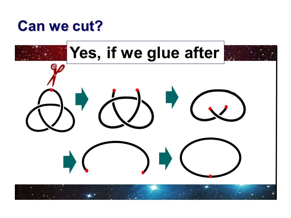 Can we cut Yes, if we glue after