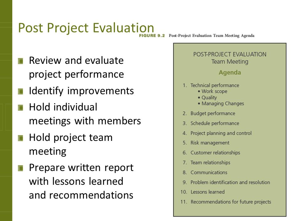 Closing The Project Teaching Strategies  Ppt Video Online Download
