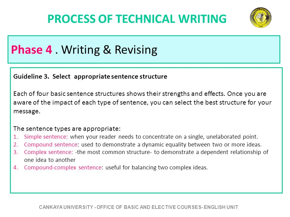 process of technical writing Know the technical writing process write technical materials more effectively write with the end-user in mind, and not the product owner.