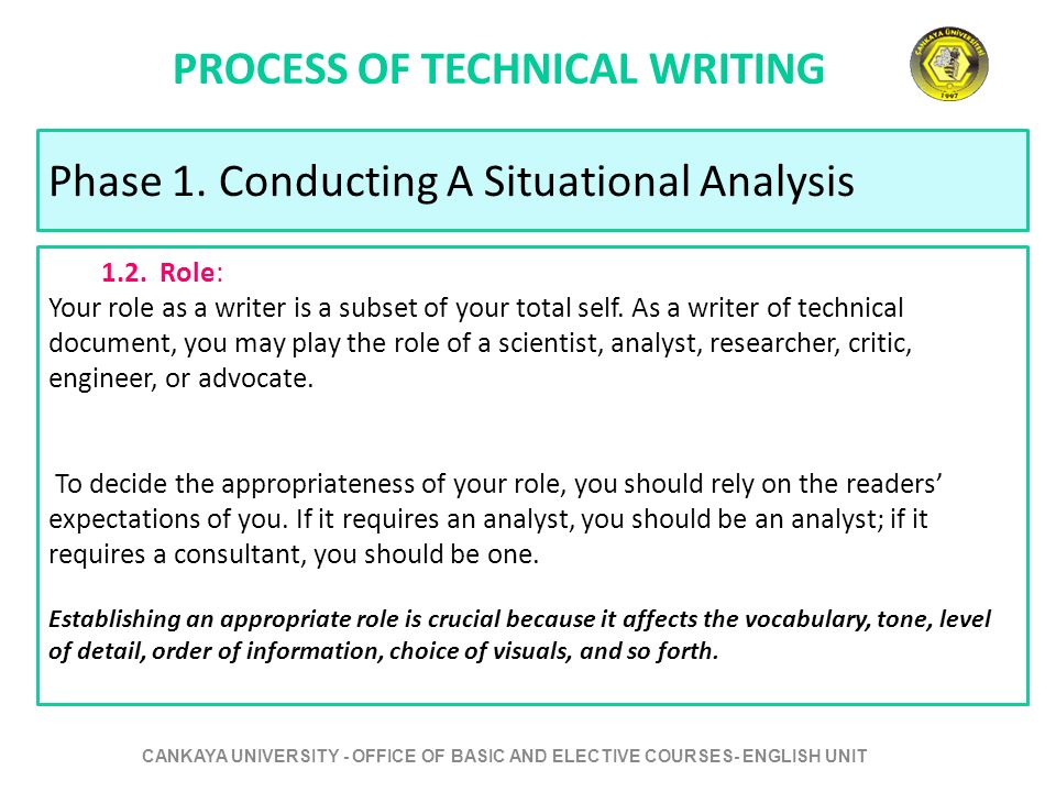 the technical writing process Technical writing is a valuable skill in this article, you will learn the optimal  technical writing process and how to apply it in your profession.