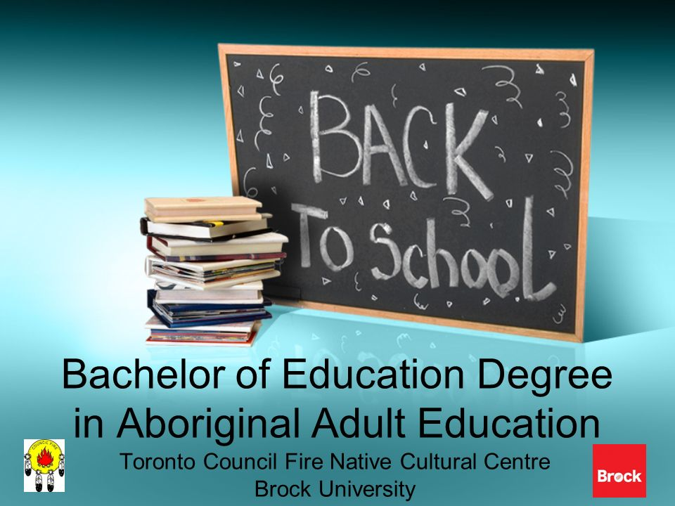 Bachelor of Education Degree in Aboriginal Adult Education