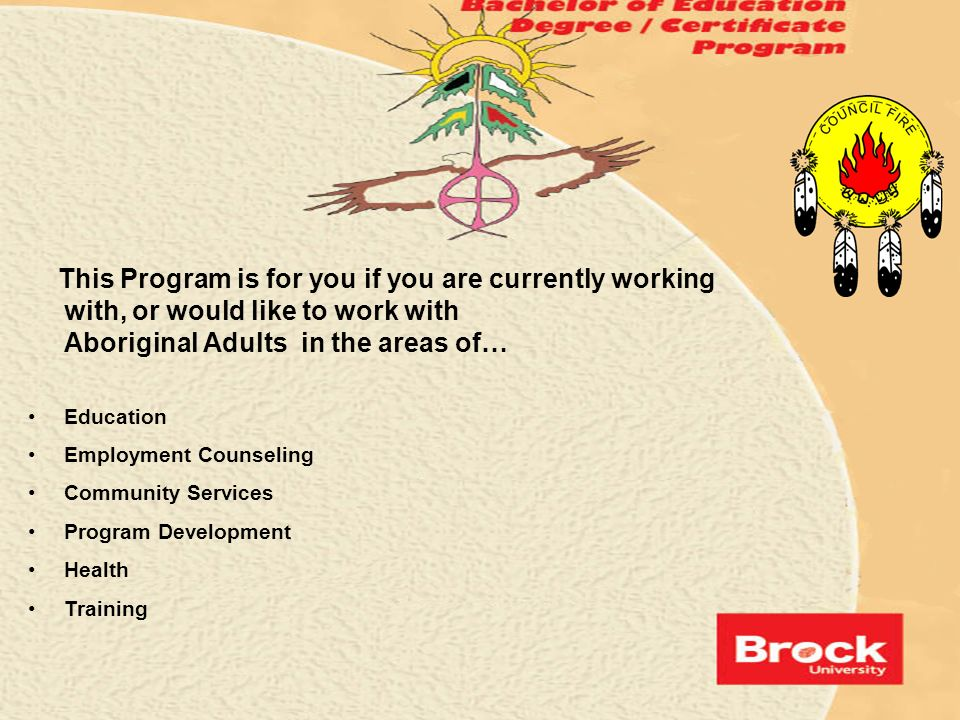 This Program is for you if you are currently working with, or would like to work with Aboriginal Adults in the areas of…