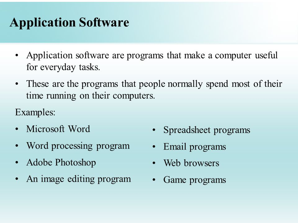 how to make application software
