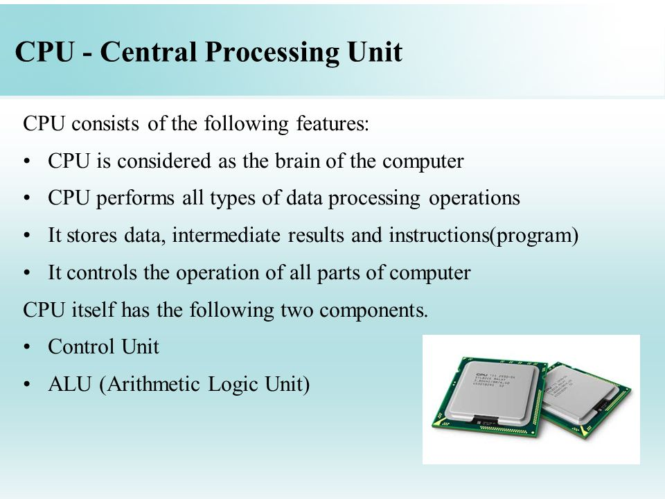 Chapter 2: Computer System Components - ppt video online ...