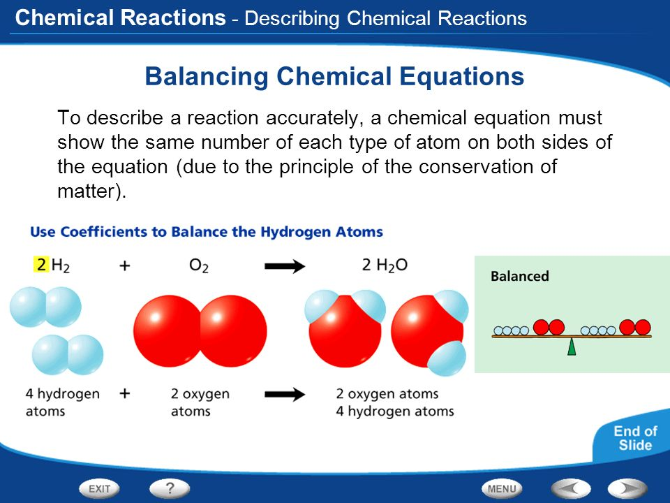 Table of Contents Observing Chemical Change - ppt video ...