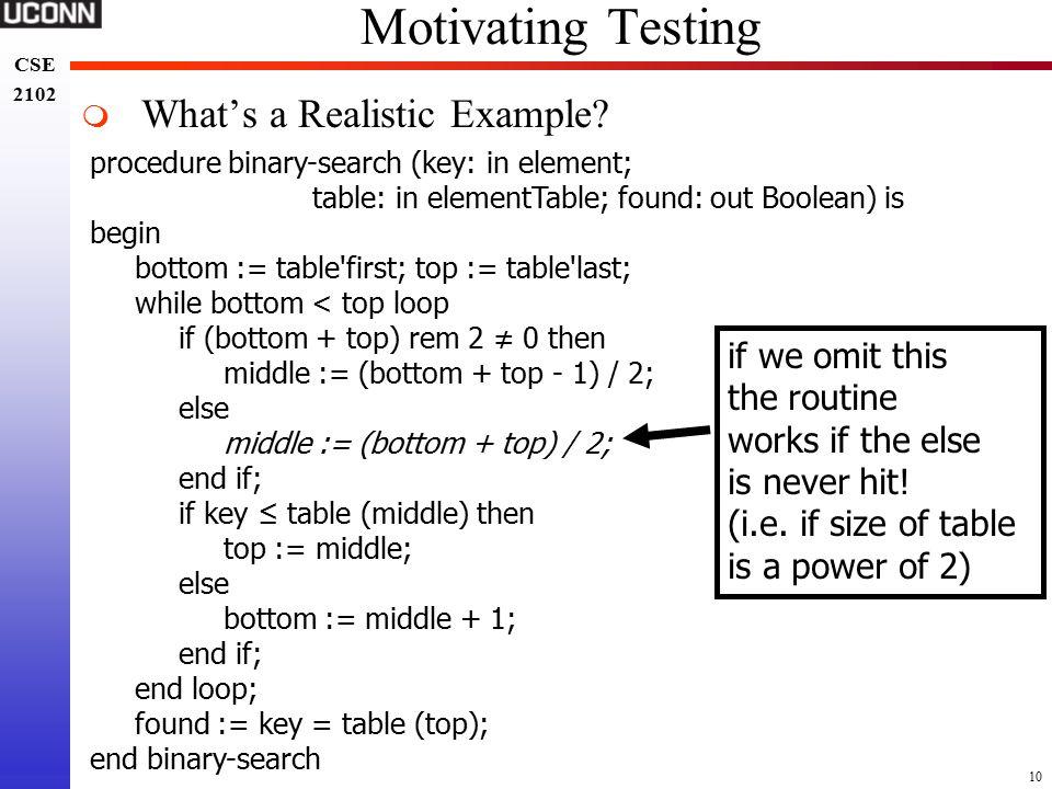 fan testing procedure formats
