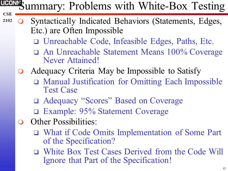 manual white box testing