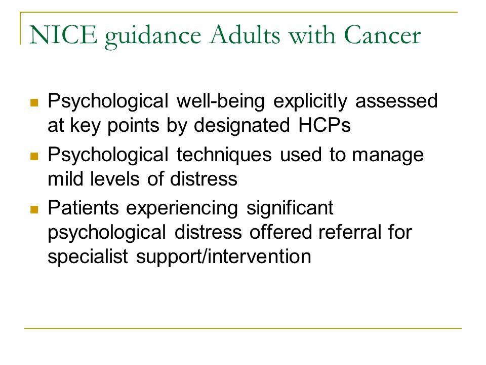 colorectal cancer nice guidelines pdf