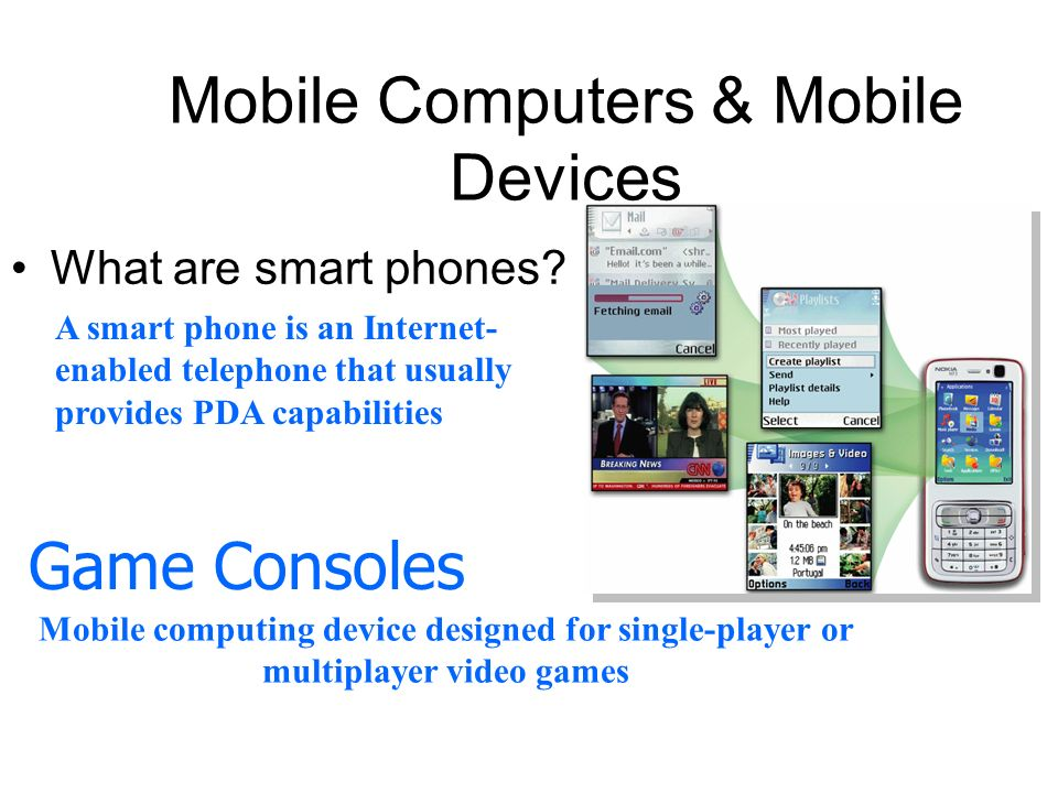 Mobile Computers & Mobile Devices