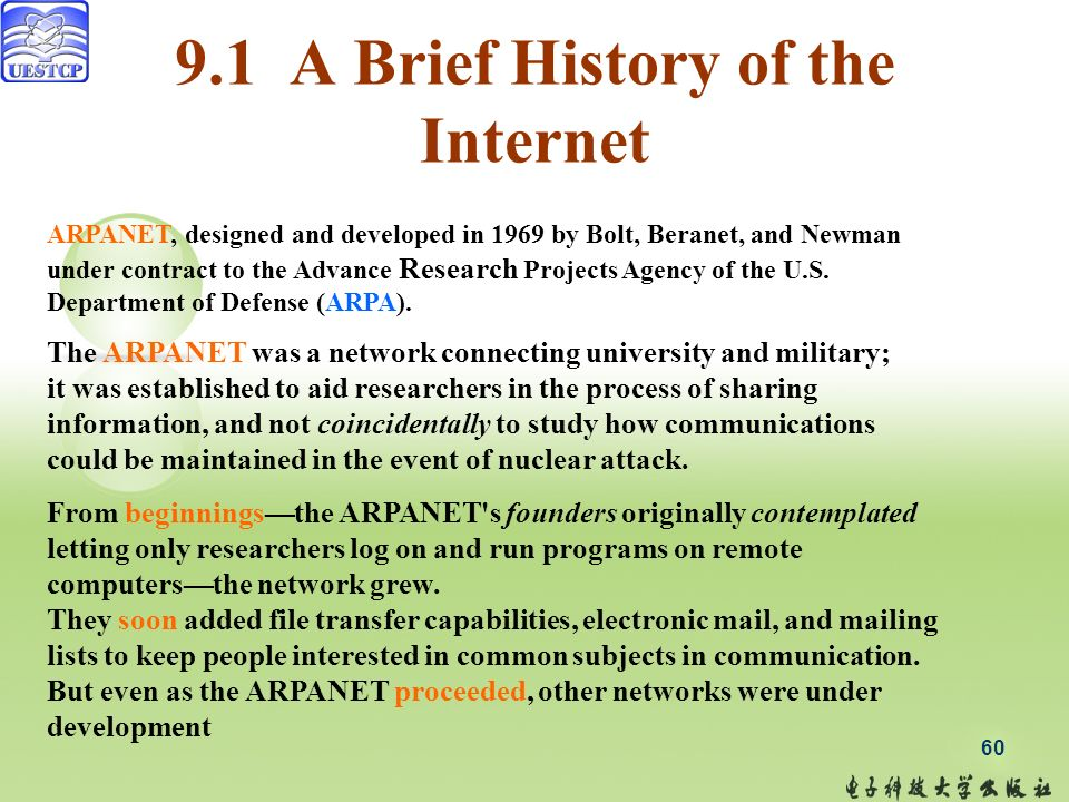 a brief history on the development of the internet Sarah phillips reports on the development of facebook, from a harvard social-networking website to a global internet phenomenon.