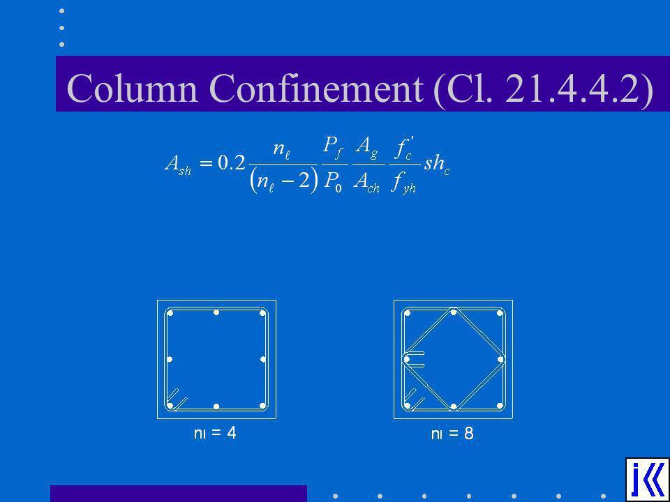 Column Confinement (Cl. 21.4.4.2)