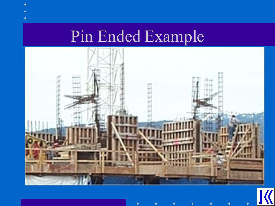 Pin Ended Example