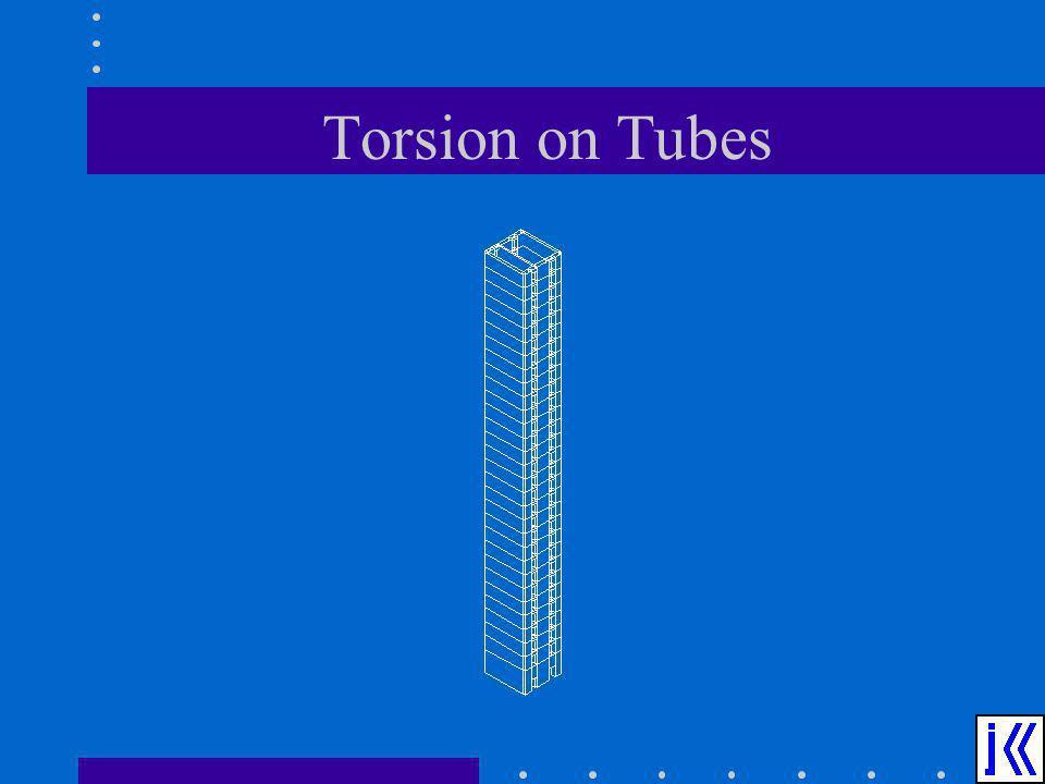 Torsion on Tubes