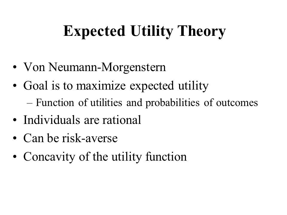 understanding the concept of prospect theory and the alternatives by kahneman and tversky Loss aversion—the idea that losses hurt more than gains feel good—is one of the most well-known insights of behavioral economics originally developed by daniel kahneman and amos tversky in the late 1970s as a component of prospect theory, loss aversion has since come to be seen as the.
