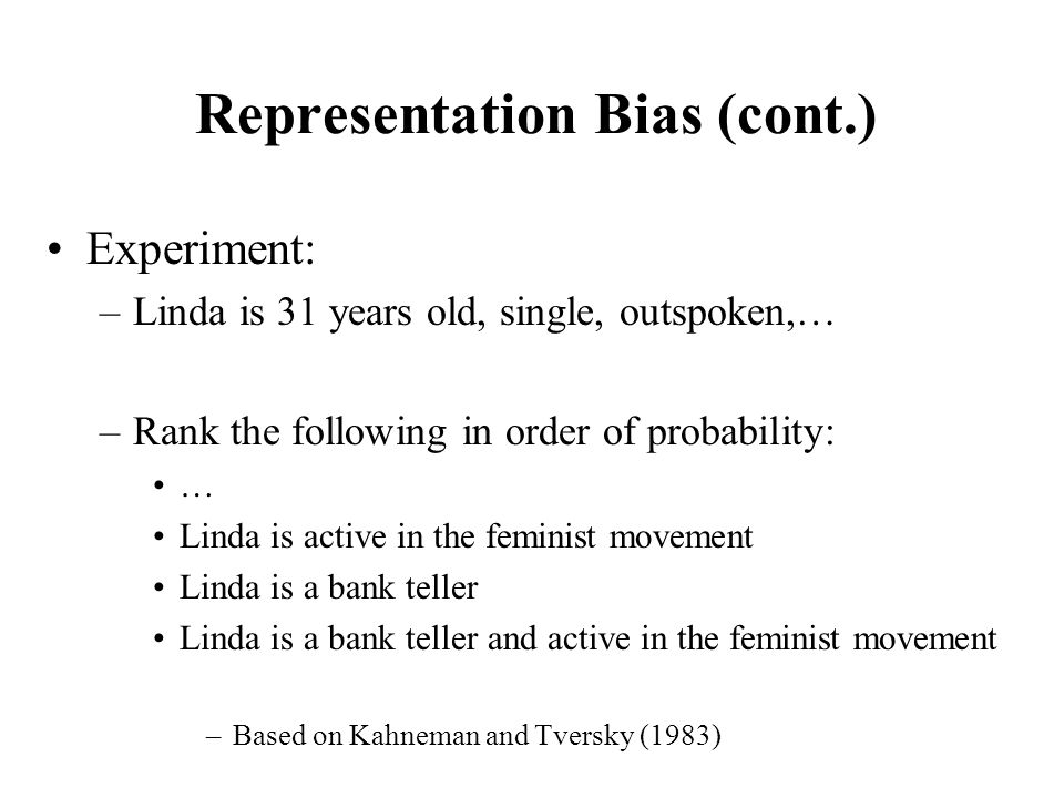 representation and bias Representation bias term in neural network up vote 2 down vote favorite i've seen different variations of representing the bias term in a neural network, which is added during the forward propagation phase, and i would like to verify whether my interpretation is correct.