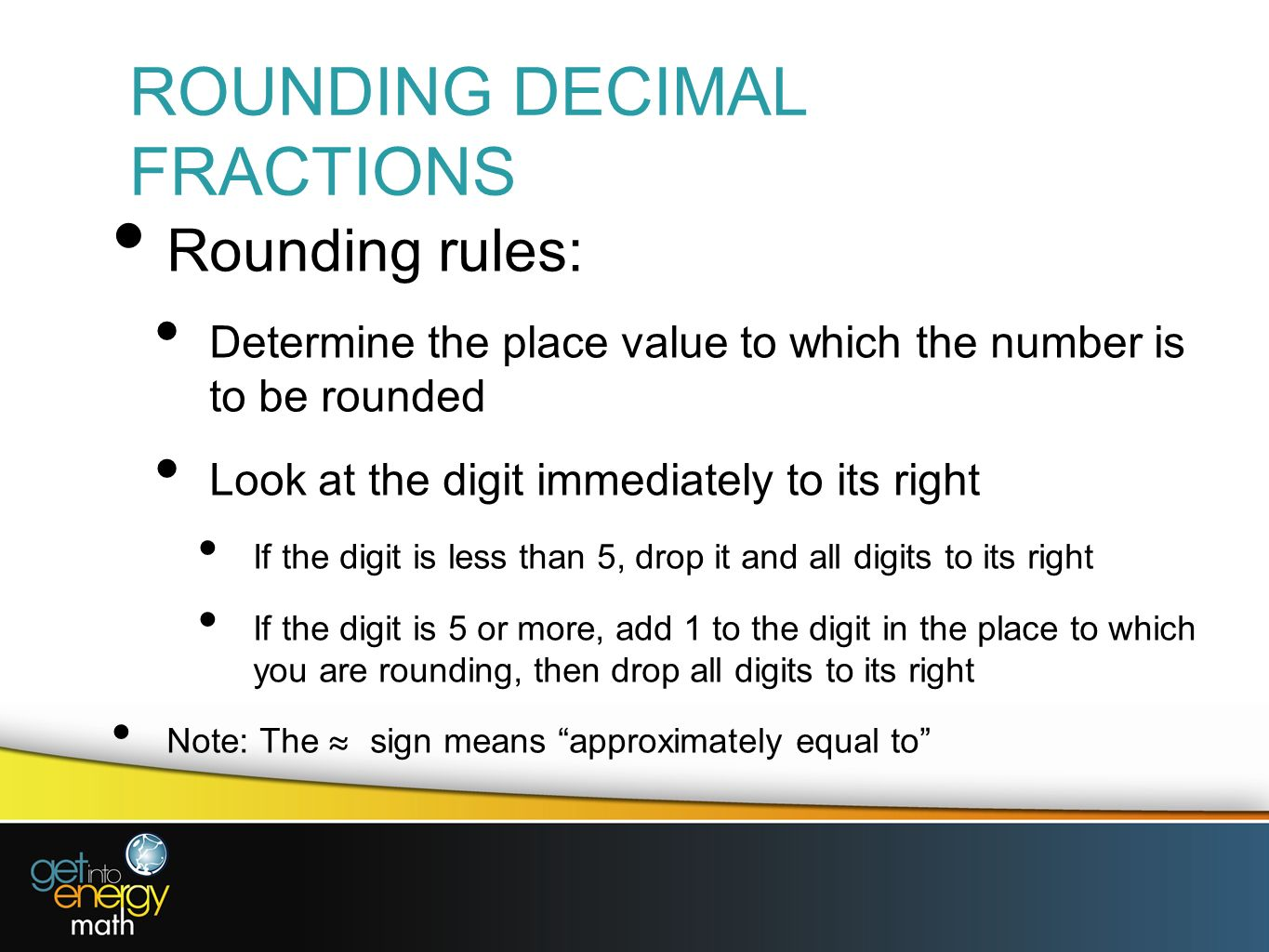 Presentation 6 decimal fractions ppt video online download 5 rounding decimal fractions biocorpaavc