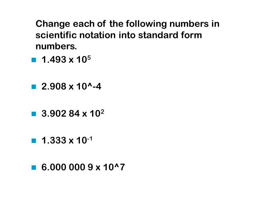 Scientific Notation Ppt Video Online Download