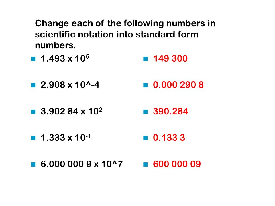 Scientific Notation. - ppt video online download