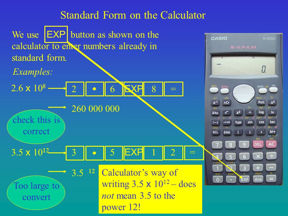 Write The Number In Standard Form Calculator Dolapgnetband