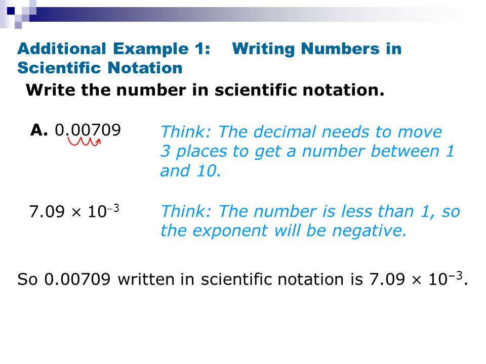 write answer in scientific notation calculator