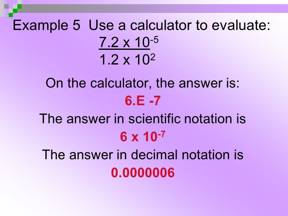 How does scientific notation differ from ordinary notation?