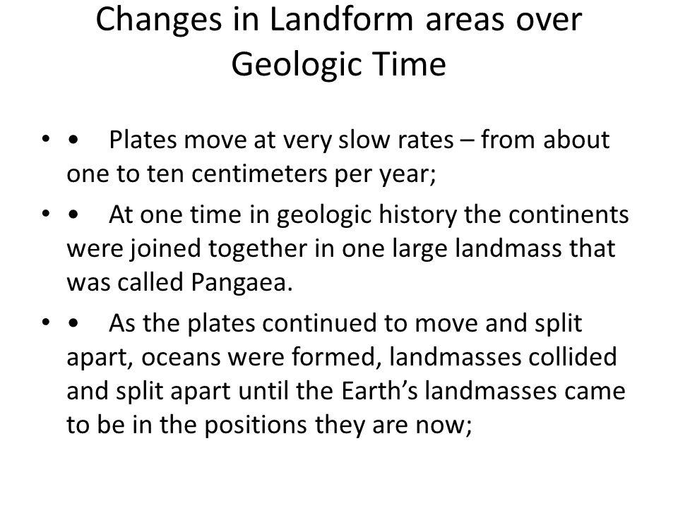 landforms homework