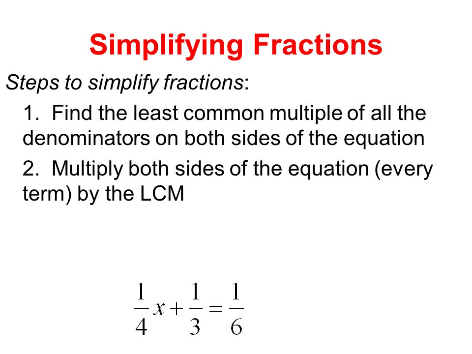how to find the coefficient fraction
