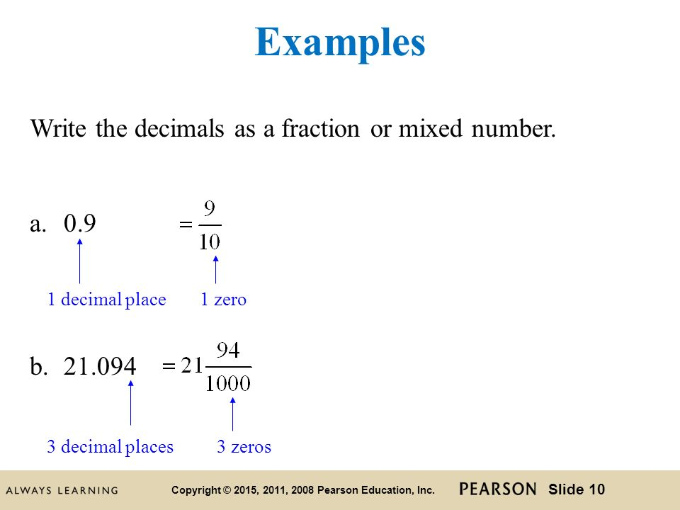 writing decimals as fractions or mixed numbers Write a mixed number for the parts that are shaded problem solving  matching  - picture of fractions, fractions, and decimals - math learning center.