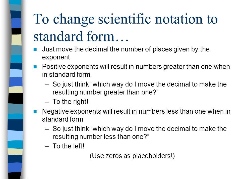 Scientific Notation. - ppt download