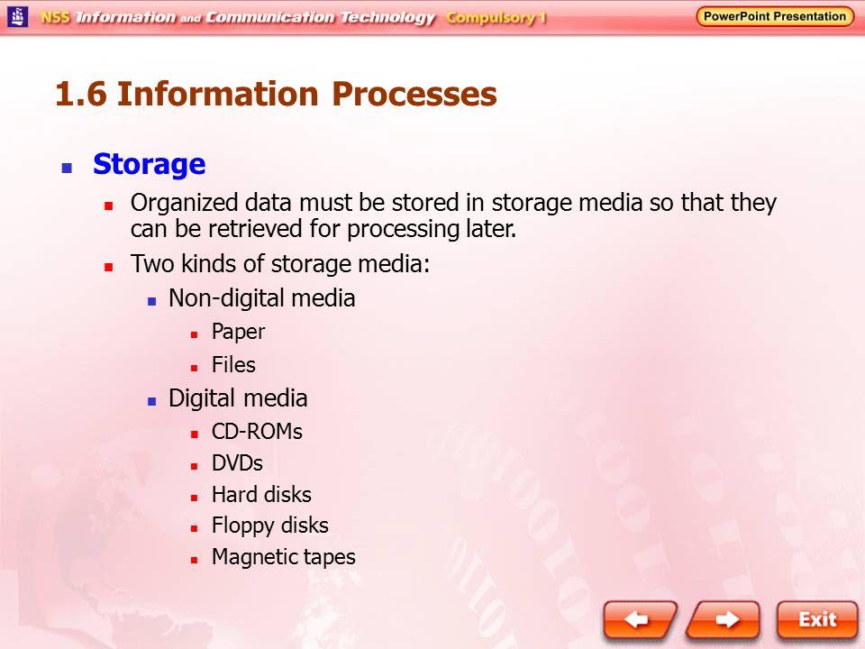 1.6 Information Processes