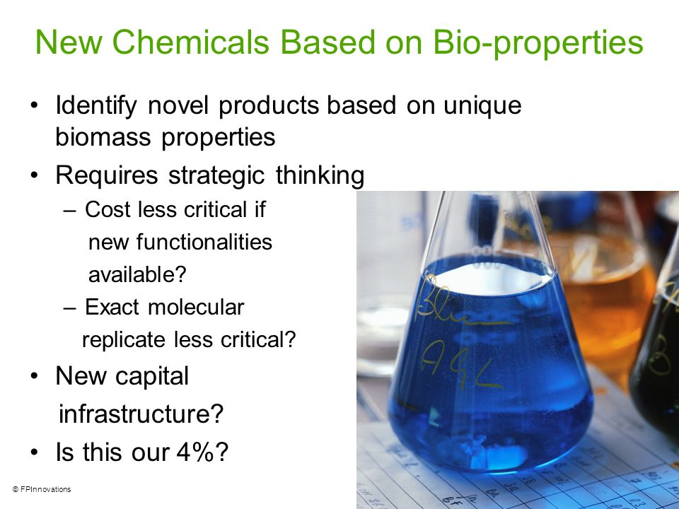 New Chemicals Based on Bio-properties
