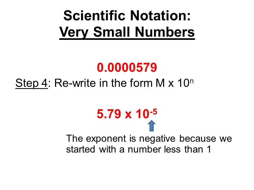 write each number in scientific notation