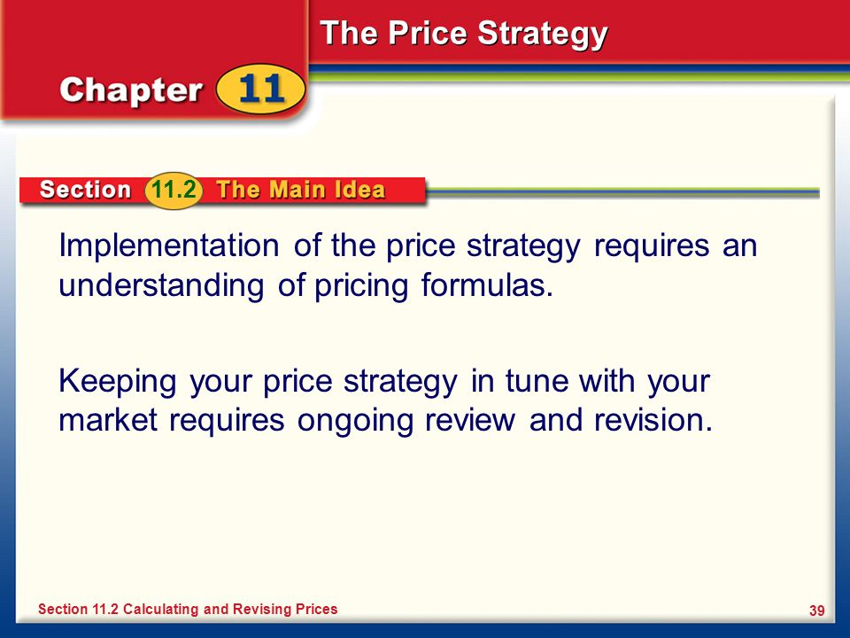 How To Develop, Implement And Review A Pricing Strategy