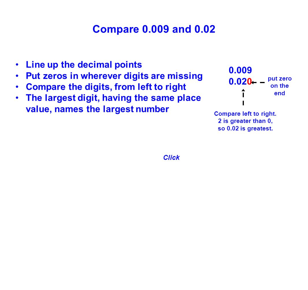 worksheet Decimal Places Names 5th grade decimal concepts ppt download 0 009 02 compare and line up the points