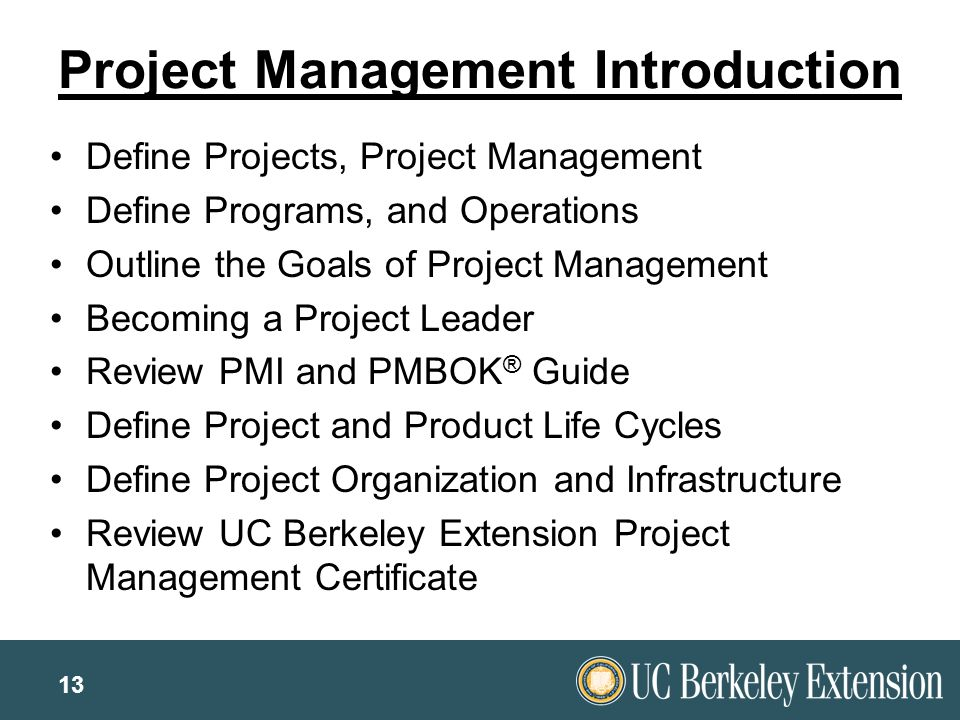uc berkeley extension project management That's where business and management programs from uc davis extension come in that's where business and management programs from uc davis project management.