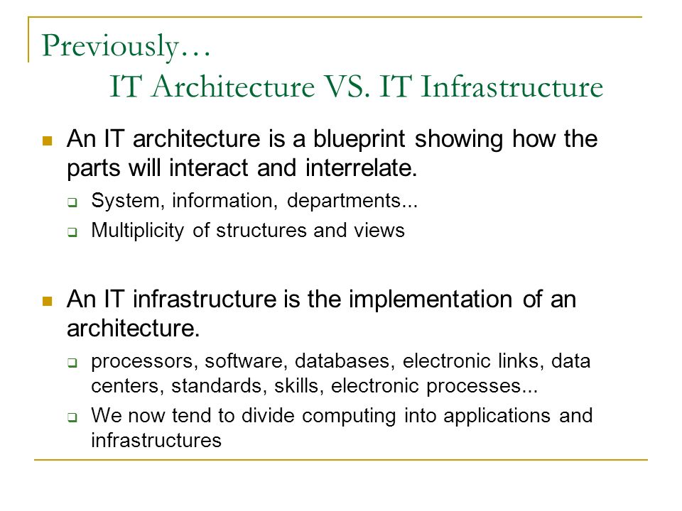 Distributed system the overall architecture ppt video online download it architecture vs it infrastructure malvernweather Gallery