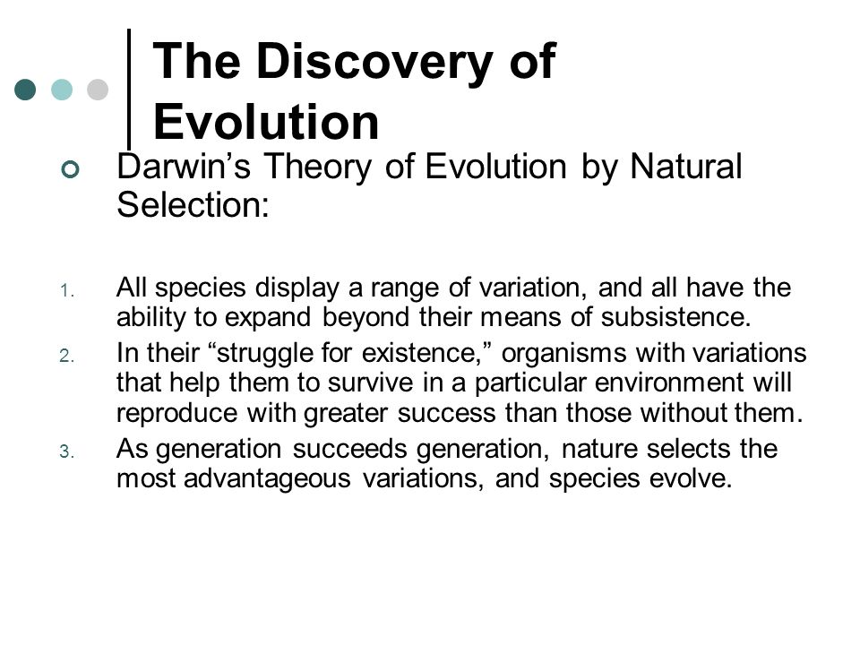 Darwin S Theory Of Natural Selection Segregation