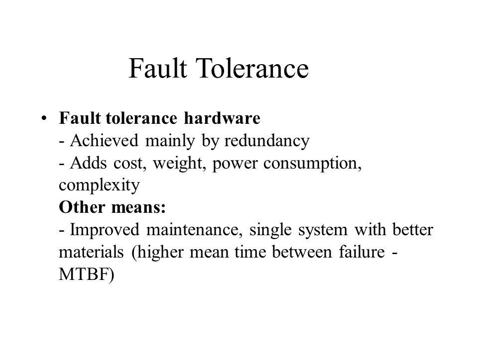 redundancy and fault tolerance 2011-11-28 daft: decoupled acyclic fault tolerance yun zhang 1, jae w lee , nick p johnson , and david i august1 1 department of computer science, princeton university, 35 olden st, princeton, nj.