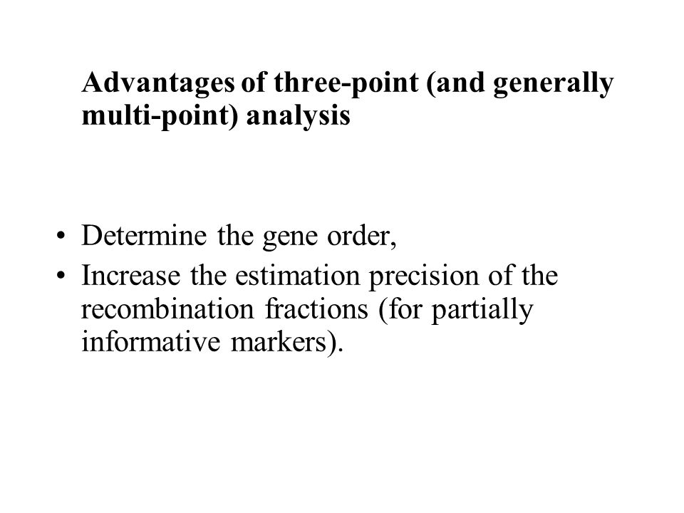 how to determine gene order
