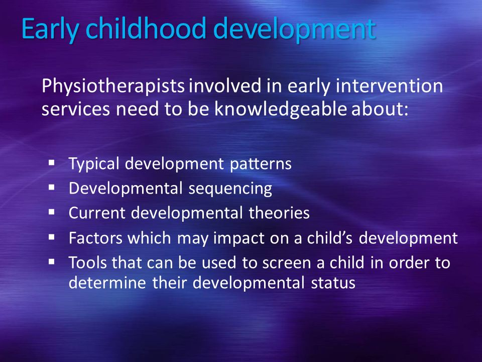 Developmental screening ppt video online download 3 early childhood development sciox Choice Image