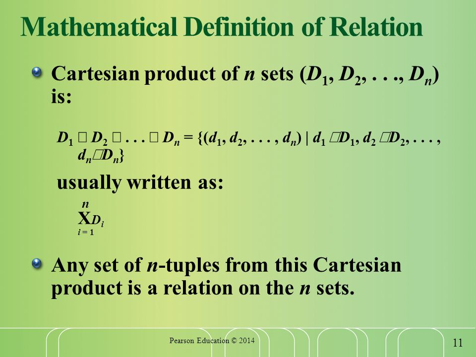 mathematical terms definition