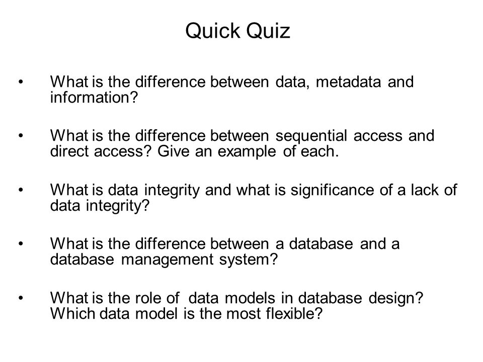 "the difference between data and information What we mean by the word ""data"" the four basic types of data the difference  between data and information processing and encoding what is data data is a ."