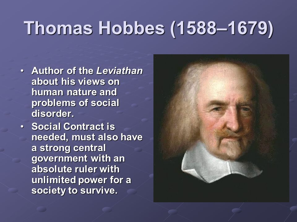 thomas hobbes 3 essay Thomas hobbes was an english philosopher remembered today for his work in philosophyhobbes was a rationalist and tried to use the scientific method in his own works on power, politics, and human nature.
